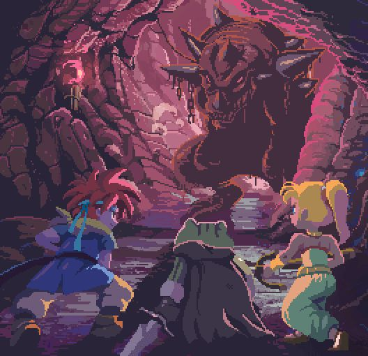 Incredible Chrono Trigger GIF animation fan art!