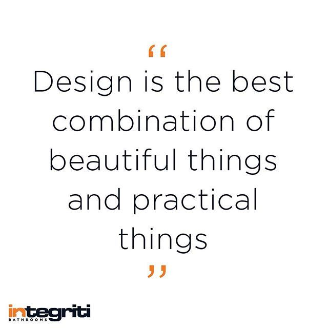 This week we have some great new projects starting, we are working on a fine balance between these! #inspiration #integritibathrooms #design #decorate #designquote #designer  #designerbathroom #beautifulthings #practicalthings #interiordesign #inspo #instaquote #inspiration #integriti