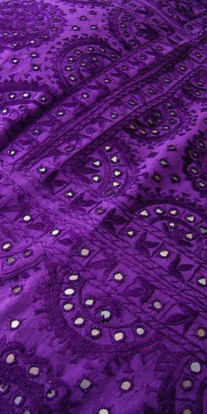 purple mirror bedspread