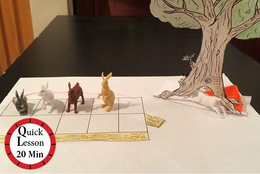 Curious George and the Rabbits | Students work together to demonstrate different…