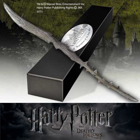 Harry Potter - Bacchetta Magica dei Mangiamorte (Thorn) http://www.coltelleriacollini.it/harry-potter-bacchetta-magica-dei-mangiamorte-thorn/
