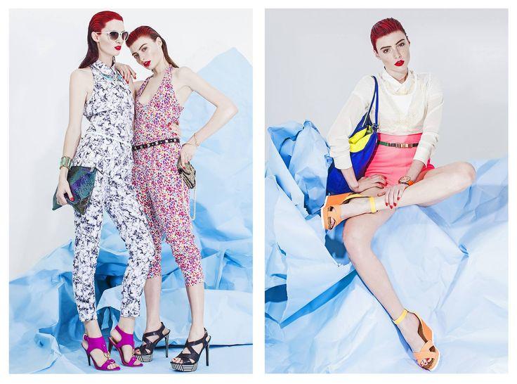 Revista ED by Tomas Reid Vestuario Bernardita del Solar Make up: Poli Pico Models : Kara Erwin , Ana Paula Rondan ginger