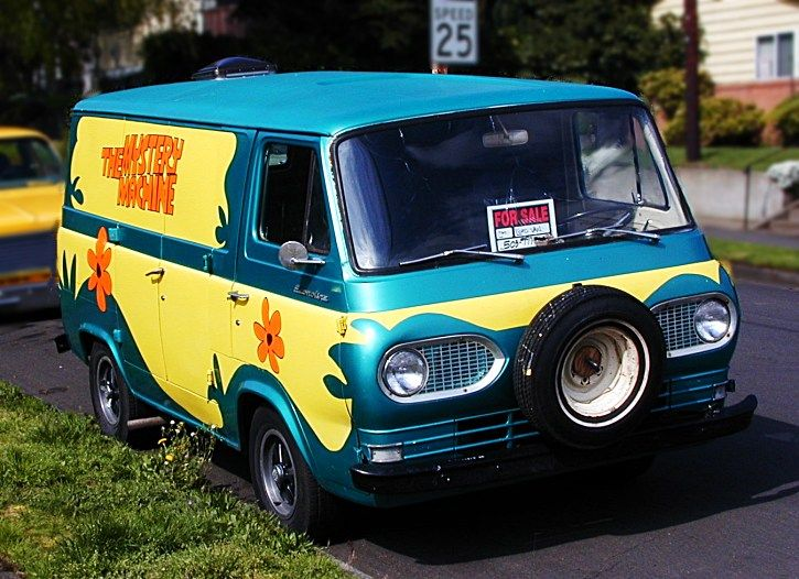 here is a van for you gwen obrien there are scooby doo vans really for sale out there you. Black Bedroom Furniture Sets. Home Design Ideas