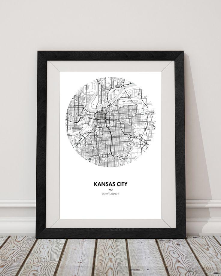 Kansas Map Poster from Landmass - #Kansas #Kansasmap #Kansasmap #Kansasmapprint #Kansasposter #landmass #wallart #wallposter #giftideas #giftsforboyfriend #giftsforgirlfriend