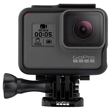 Buy GoPro HERO5 Black Edition Camcorder, 4K Ultra HD, 12MP, Wi-Fi, Waterproof, GPS Online at johnlewis.com