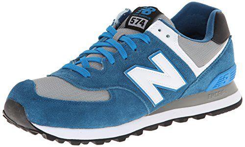 New Balance ML574 D, Herren Sneaker, Blau (CPD BLUE/GREY), EU 42 (US 8.5/UK 8) - http://uhr.haus/new-balance/42-eu-8-uk-8-5-us-new-balance-ml574-d-herren-sneaker-3