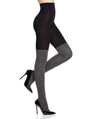 0e4c94efd93f9 Other Womens Hosiery and Socks 11523: Dkny Fashion Over The Knee Sock Tight  Size Small Black Flannel Melange -> BUY IT NOW ONLY: $13.99 on #eBay #other  ...