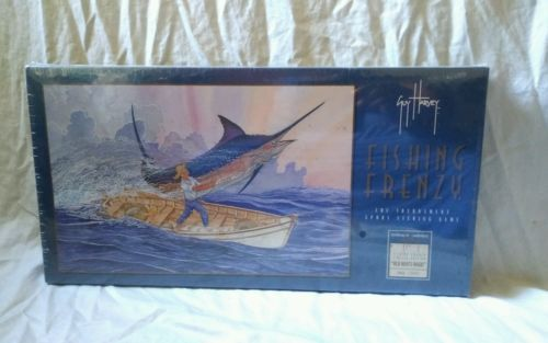 1996-Guy-Harvey-Limited-Edition-FISHING-FRENZY-Sport-Fishing-Board-Game