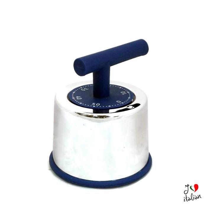 Blue practical steel timer - Kitchen - €12.90