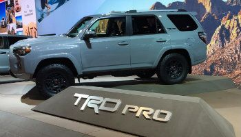 2017 Toyota 4Runner TRD Pro Chicago Auto Show