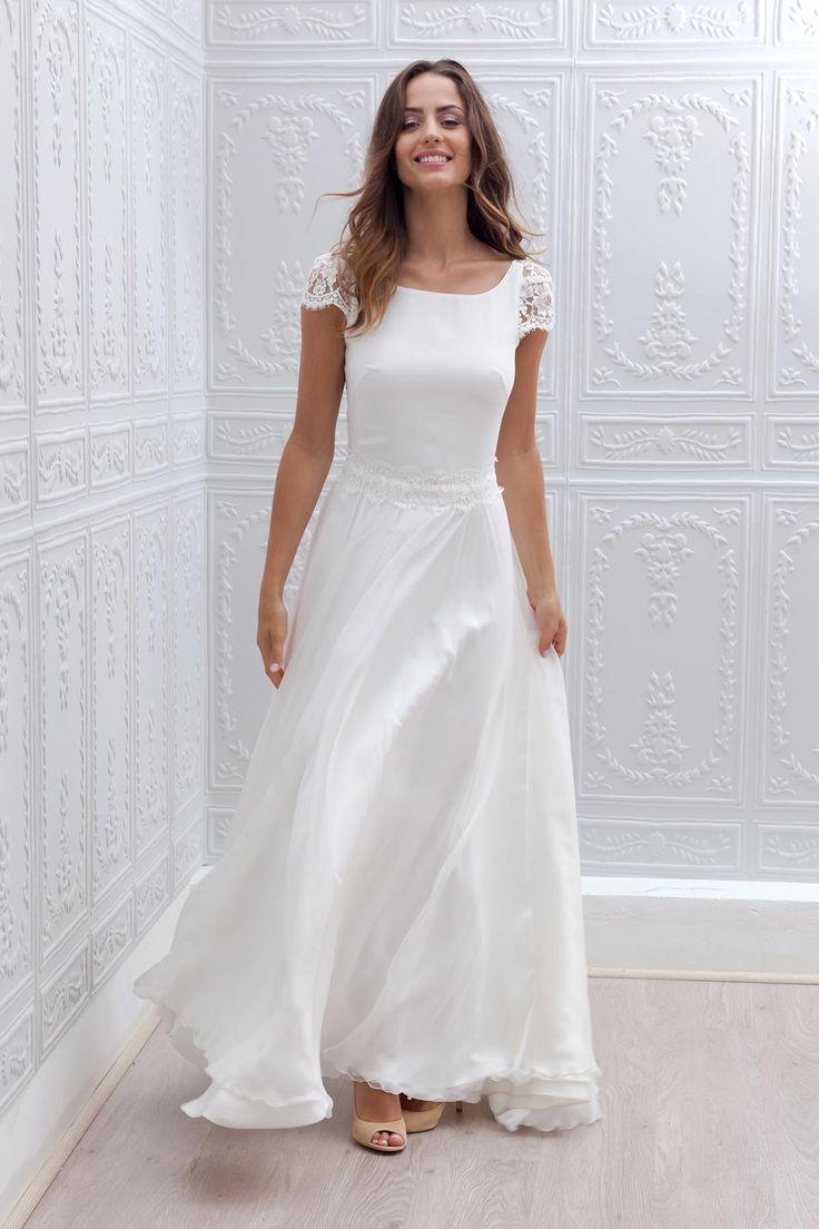 39 best Brautkleider images on Pinterest   Bridal gowns, Jenny ...