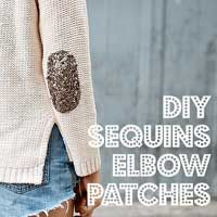 seriously!?  just today I found out I needed elbow patches on a brand new shirt!  I'll be trying this (with suede)...