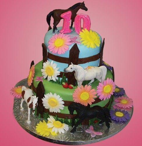Best Birthday Party Ideas Horse Theme Images On Pinterest - Horse themed birthday cakes