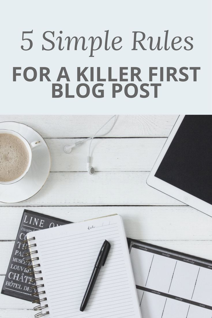 That first blog post can seem daunting, but it's time to stop putting it off! Once you get started, blogging is going to help you to boost your online business like nothing else! You don't need to be a professional copywriter to create a great post - I promise!