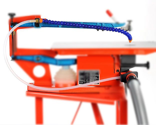 Nachrüstset Absaugvorrichtung mit Gelenkschlauch Nachrüstset für Absaugung Multicut 1 details
