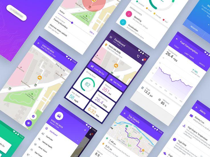 Car Connect App UI