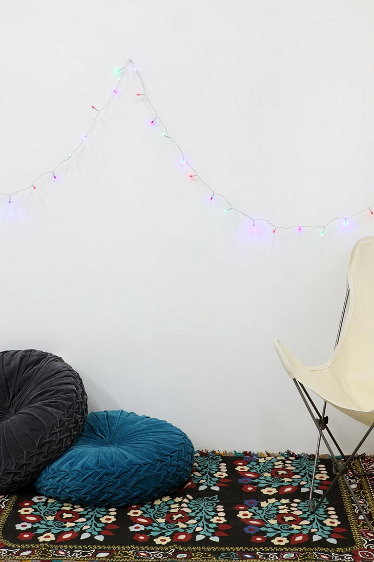 Kissen Ecke Bodenkissen Urban Outfitters Wohnzimmer Feder Nest Samt Dorm Ideas Room Decor