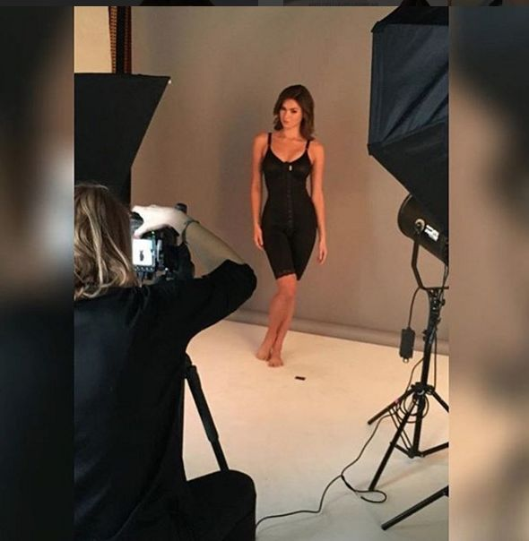 #TBT when we were at the studio working hard to make everything prettier for our customers!  #tbt #throughbackthursday #madebyMACOM #compressiongarments #photoshoot #makeup #lights #shape #bodyshaper