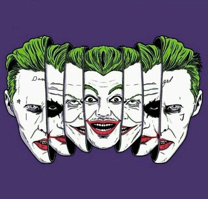las caras del joker. tiene 4 caras y nunca mejor dicho