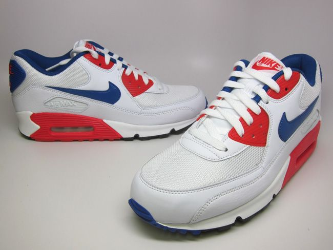 Nike Air Max 90 Essential | Hyper Blue & Hyper Red