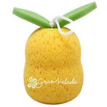 Esponja de Baño, Pera 3D, estupenda esta esponja con forma de pera, ideal para niños. Disponible en Gran Velada. #diy