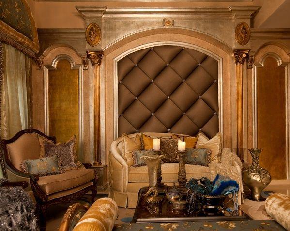 Old World Tuscan Living Room