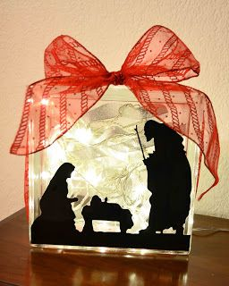 You Pinspire Me .: 16 DIY Nativity Scenes
