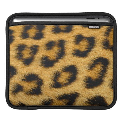 Leopard Print 1 iPad Sleeve
