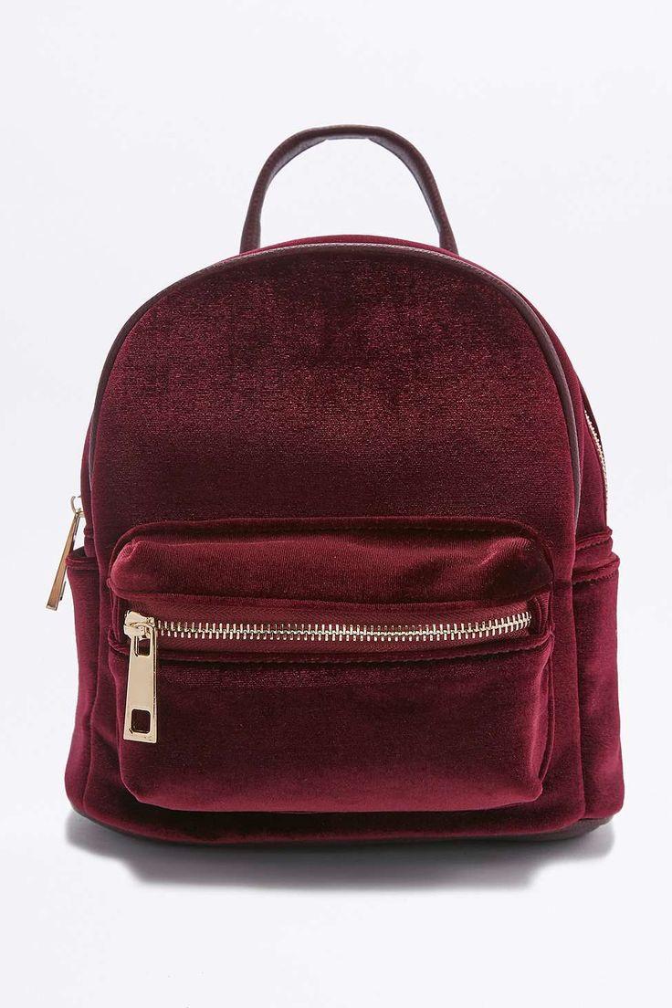 //Shop: Velvet Mini Backpack
