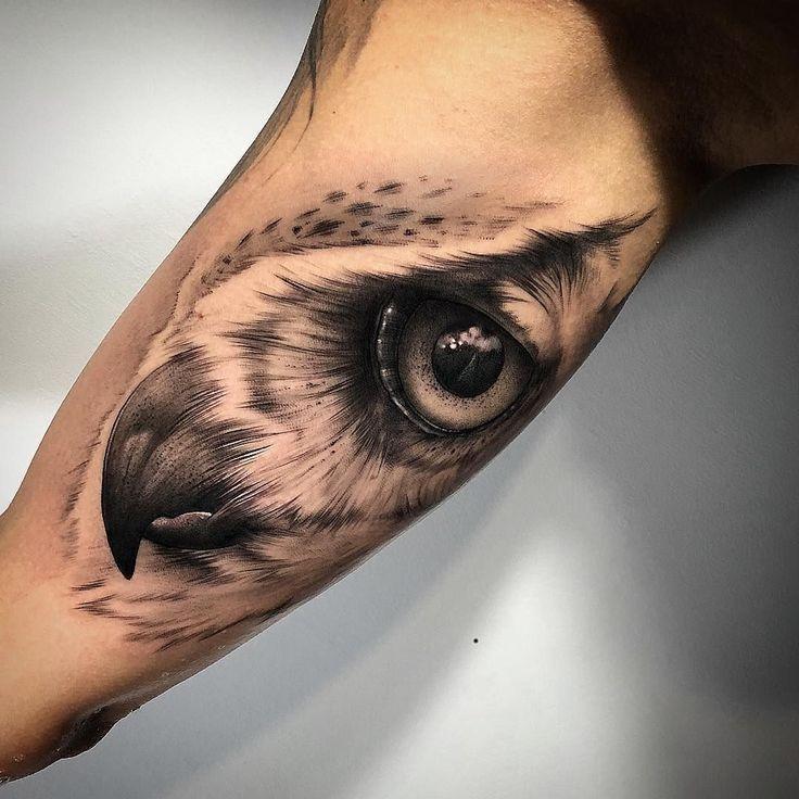 50 der schönsten Eulen Tattoo Designs und ihre Bedeutung für die Nacht …   – Tattoos