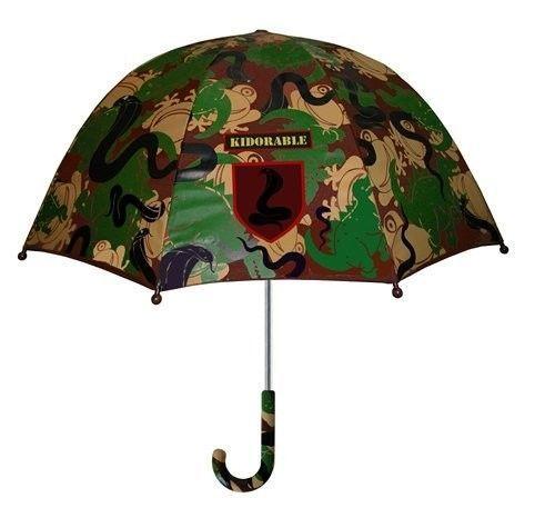 Boys Designer Green Camouflage/Army Umbrella,Licensed Kidorable Merchandise,Gift