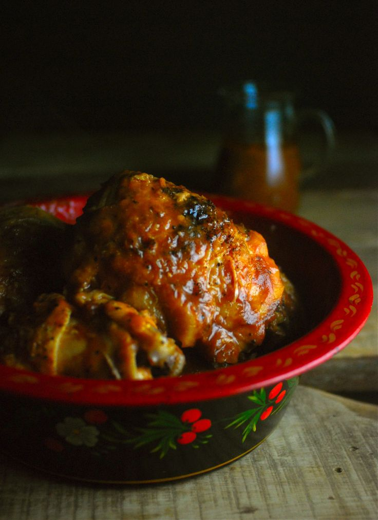 My favorite slow cooker recipe! Apple butter makes the best barbecue sauce!  Paleo, gluten free.