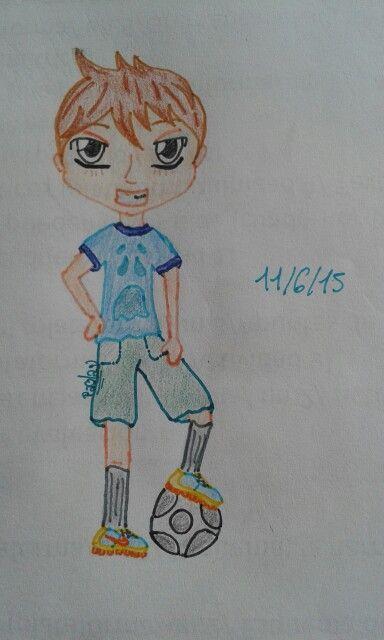 Chibi football player