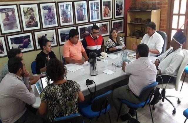 Ordenamento pesqueiro nos municípios de Santa Isabel do Rio Negro e Barcelos, foi a pauta da reunião realizada no dia 07/03, na sede da Fundação Estadual do Índio – FEI em Manaus, entre o Diretor Presidente da FOIRN, Marivelton Barroso Baré e Hamilton Casara – Secretário de Estado da Produção…