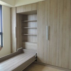 http://davewirth.blogspot.com/2012/02/twin-beds.html  How to make cute furniture for children. The 2 mattress uses woodard choice. And so are priced at no more than $100.  I am certain that hubs can make this for me.      Wonderful idea for our spare guest room.