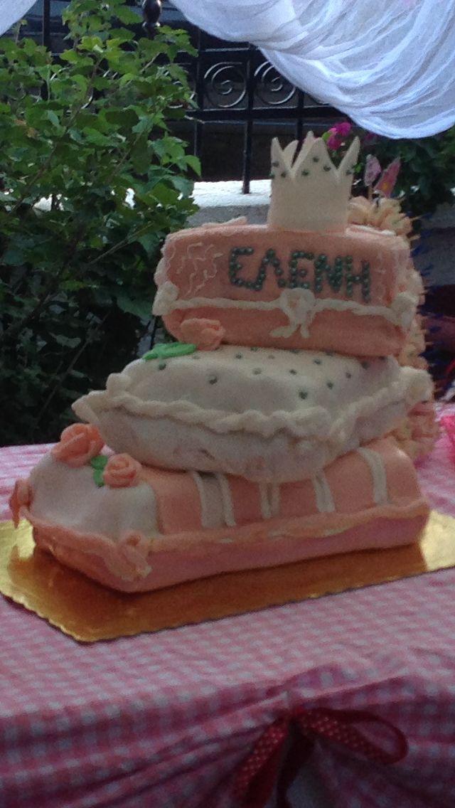 Birthday cake- τούρτα γενεθλίων