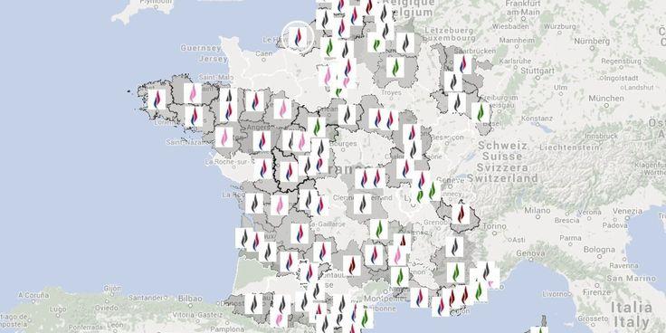 Elections départementales 2015: le FN et sa petite centaine de candidats dérangeants