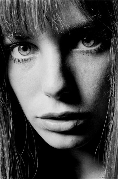 Jane Birkin, 1970. Photo: Jeanloup Sieff.