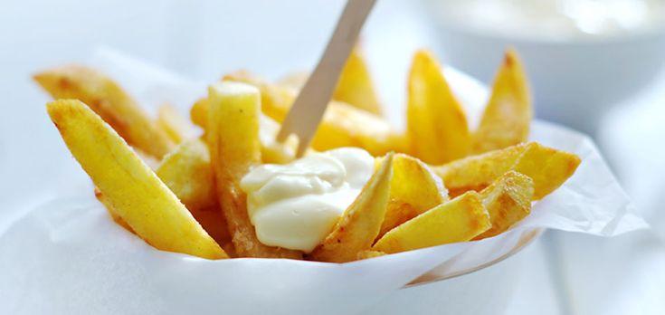 Hét recept voor de allerbeste friet. Mét een gulle portie zelfgemaakte mayonaise.