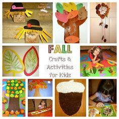 Celebrate fall with these 10 fun fall crafts and learning activities for kids #autumn What's your favorite part of fall?