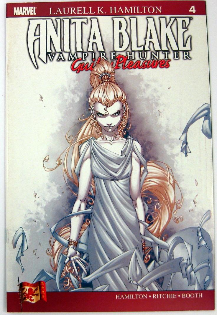 Anita Blake: Vampire Hunter  Guilty Pleasures #4 Marvelics (2007)