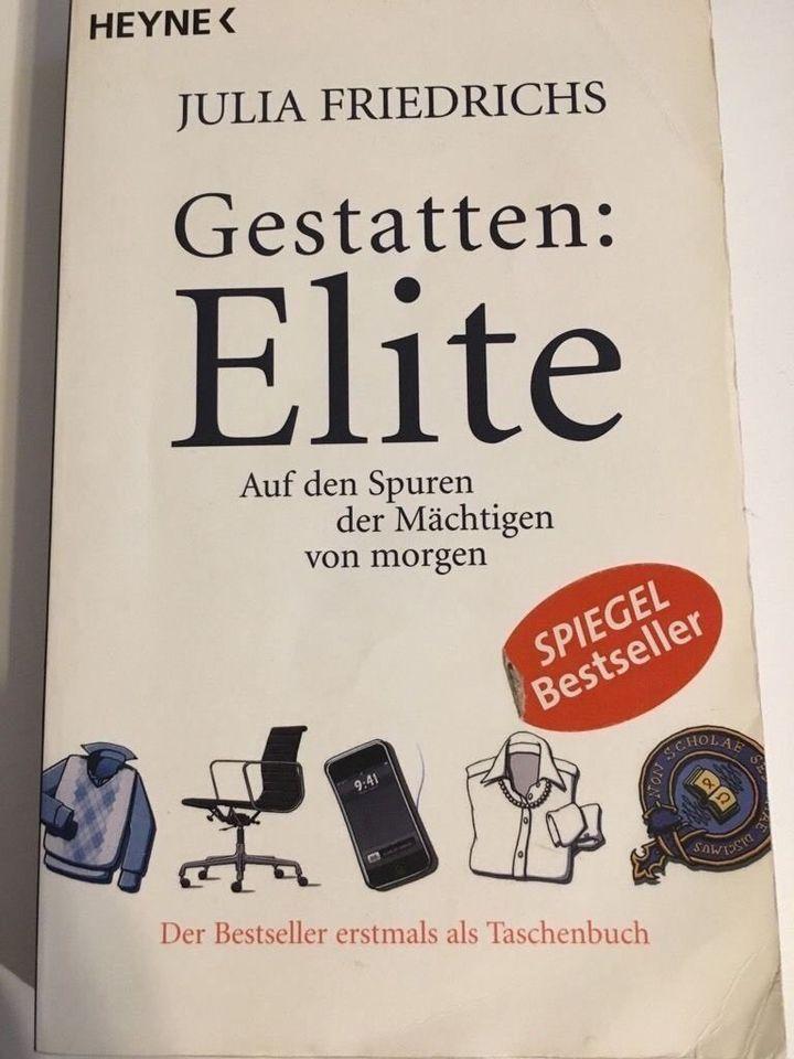 """Buch Gestatten: Elite - Auf den Spuren der Mächtigen von morgen, Optional(""""4€"""")"""