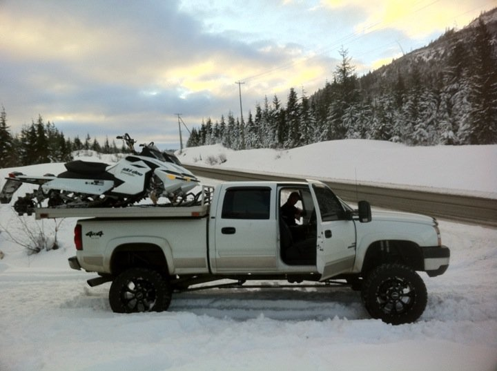 Sled Deck Chevy trucks, Snowmobile, Truck bed covers
