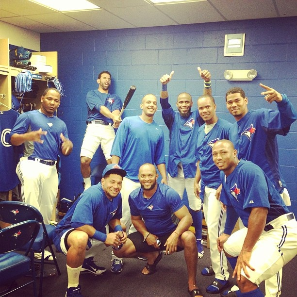 Courtesy of Jose Reyes' instagram. I could not love this team more.