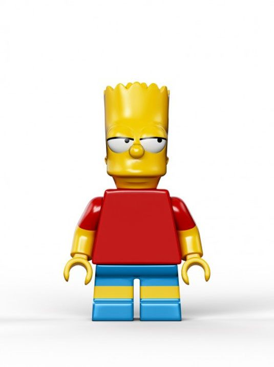 LEGO The Simpsons Bart Simpson Minifig