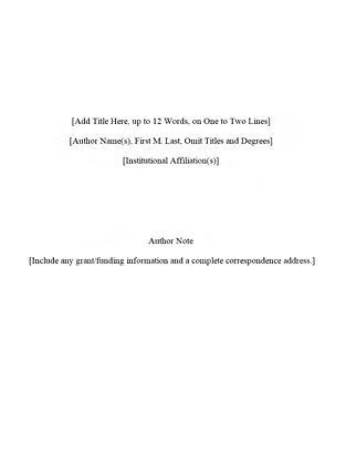 guide research paper apa style