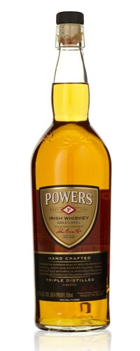 Powers Gold Label ($30) Until recently the most popular whiskey in Ireland. At 87 proof, it's dark, grainy, with notes of tea.
