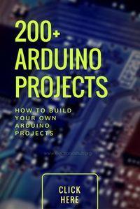 200+ Lista Arduino Projetos para estudantes do último ano