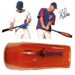 "RBI Pro Swing Training Aid. From bat lag to contact the shot which travels through the chambers actually speed up the bat. When the shot moves form bat lag to contact the centrifugal force of the shot moving speeds up the hands and the bat. No other weight does this. This gives us the ability to work on the fast twitch muscles rather than the big muscles like other weights    ""SWISH"" AND IT'S MEANING - The ""swish"" is the immediate feedback you get when using the RBI Pro Swing. The tighter…"