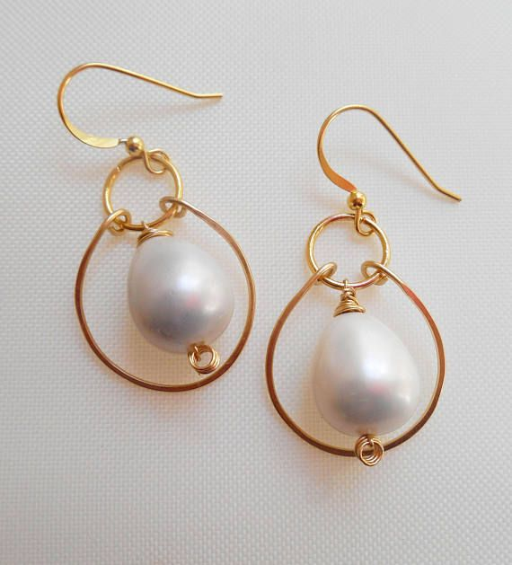 Yolande gemstone chandelier earrings white minimal bridal